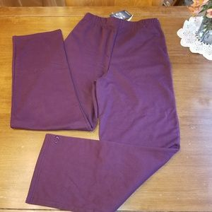 GTM Sportswear Bottoms - GTM Sportswear maroon sweats